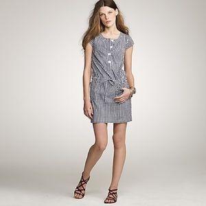 J. Crew Gingham Olivia Shift Dress